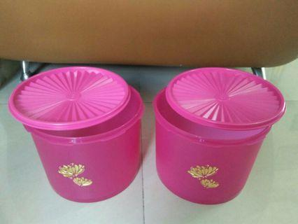 Toples Tupperware Lotus Super Deco