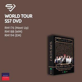 (PRE-ORDER) SUPER JUNIOR WORLD TOUR SUPER SUPER SHOW 7 DVD