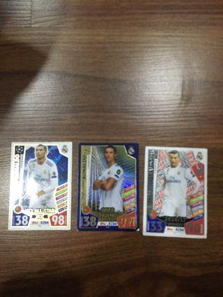 UEFA Ronaldo card match attax