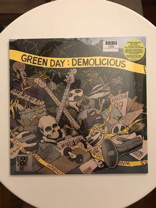 "Green Day: Demolicious (Clear Vinyl) 2x 12"" RSD"