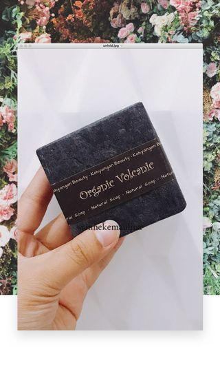 Natural Soap from Bali Organic Volcanic (FREE Bubble Net)