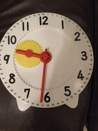 教學用時鐘