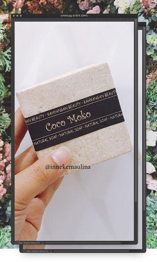 Natural Soap from Bali Coco Moko (FREE Bubble Net)