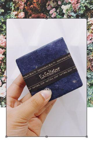 Natural Soap from Bali Exfoliator (FREE Bubble Net)