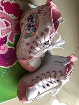 Little pony ankle toddler shoes