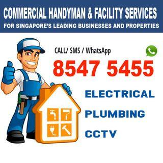 Commercial Handyman services, Island wide WhatsApp @8547 5455