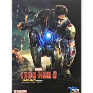 Iron Man 3 Mark 42 1/9 Battle Damaged Ver - Japan Order