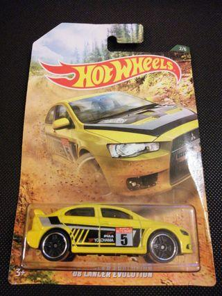 Hot Wheels 2008 Mitsubishi Evolution Rally Series JDM