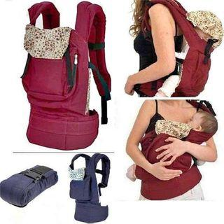 Free Delivery Multi-Position Baby Carrier, Newborn to Toddler, With Mini Floral