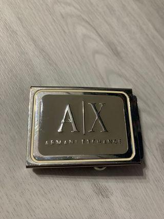 🚚 Armani Exchange A|X Buckle