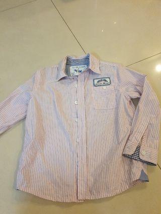 🚚 Long Sleeve Pink Shirt, size 6