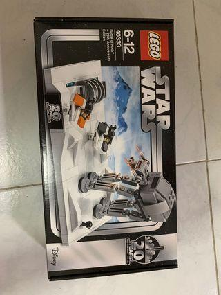 🚚 *In Stock* Lego Star Wars 40333 Battle of Hoth 20th Anniversary Edition