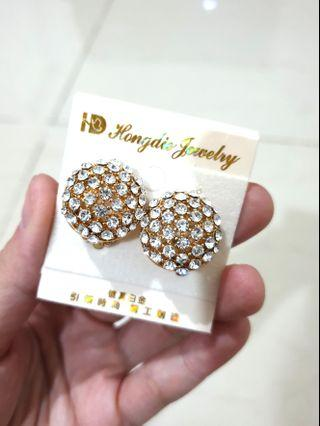 Earrings Anting diamond