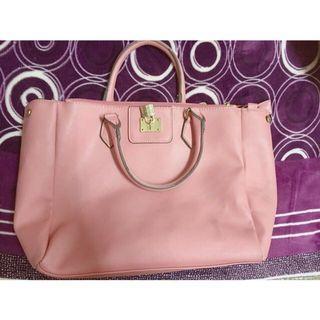 🚚 降價出清👏氣質粉紅手提包