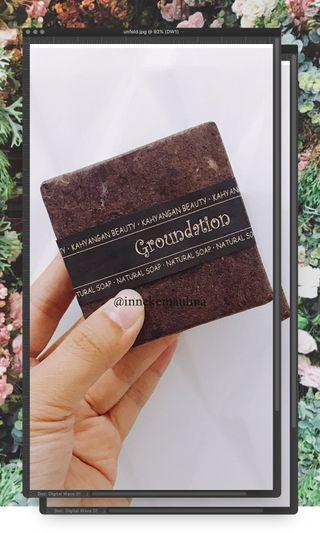 Natural Soap from Bali Groundation (FREE Bubble Net)
