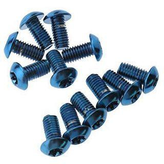 Clarks Steel Anodised bolts