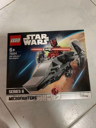 🚚 In Stock* Lego Star Wars 75224 Sith Infiltrator Microfighter