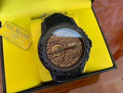 🚚 英威塔 機械錶 龍紋 型號-26432