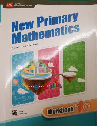 New Primary Mathematics 1C Workbook