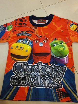 🚚 Kids Tshirt, Chuggington