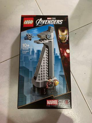 🚚 * In Stock* Lego 40334: Avengers Tower with Iron Man