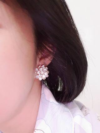 Diamond earing / anting diamond