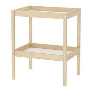 Ikea changing station with shelves (like new)