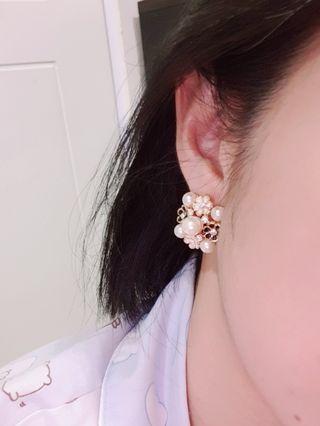 Anting Bunga flower earings