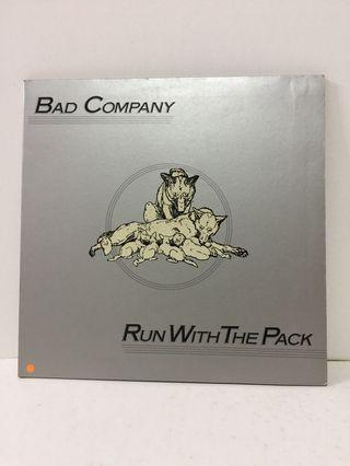 🚚 Vinyl record. Bad Company  Run With The Pack