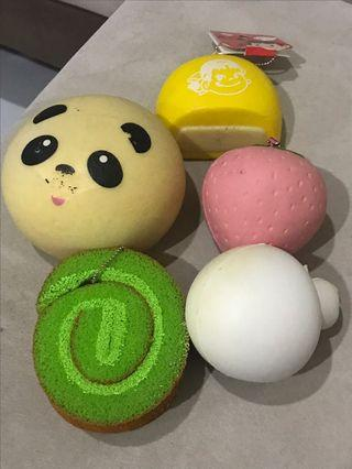 Assorted squishies
