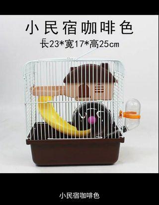 寵物倉鼠籠用品雙層豪華别墅籠子