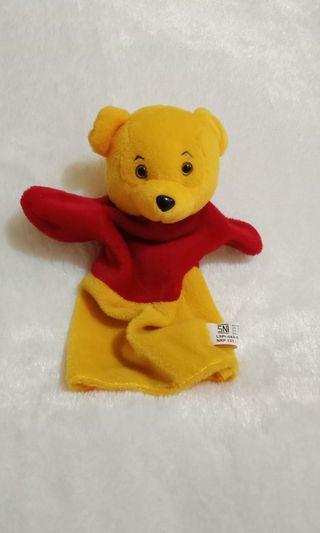 Boneka Tangan winne the pooh