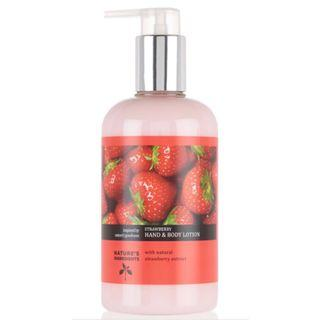 Marks and Spencer Strawberry Hand and Body Lotion