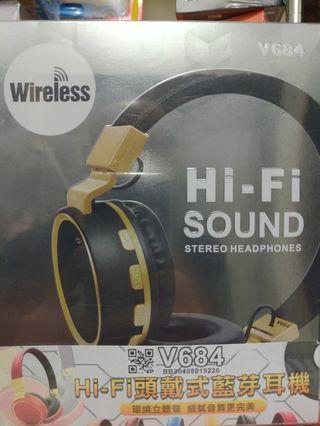 V684藍芽耳機