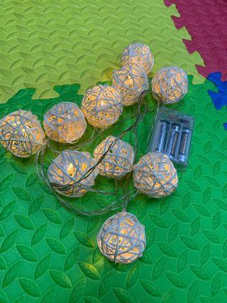 (婚後物資) wedding Ball light 閃星星波波燈