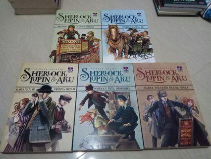 5 Novel Sherlock Lupin & Aku