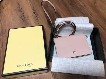 Braun Buffel Melissa Lanyard with Pass Holder authentic