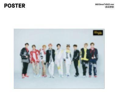 [WTS] POSTER NCT 127: SUPERHUMAN ALBUM (KIHNO ALBUM)