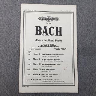 🚚 Bach score - Praise the Lord, all ye nations