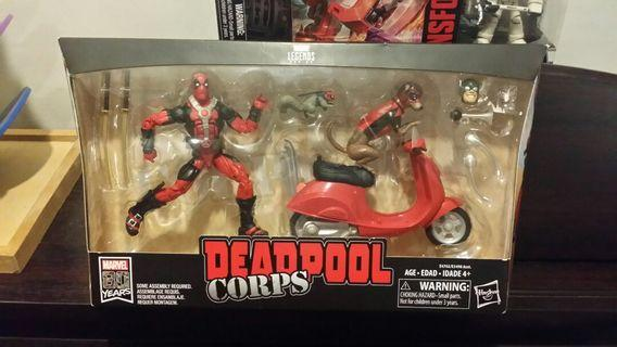 Marvel Legends Deadpool corps and bike