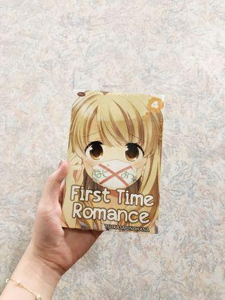 "komik ""First Time Romance"" seri ke-4"