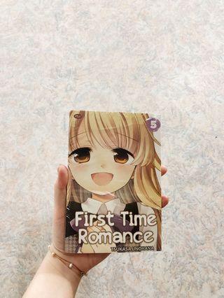 "komik ""First Time Romance"" seri ke-5"