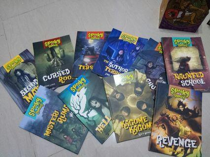 Spooky Stories 10 buku 180k