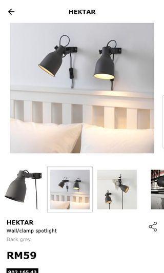 IKEA hektar lamp