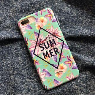 Endless Summer Floral Tropical iPhone 7+ / 8+ Case