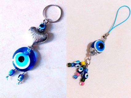 土耳其藍眼睛 Turkey Blue Eye 鎖匙扣 電話繩 keychain 🆕️