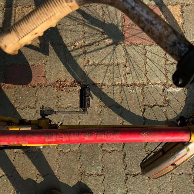 台灣早期古董腳踏車