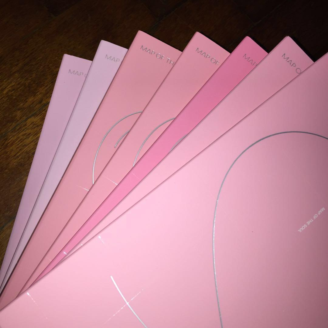 [ WTS ] BTS' Map Of The Soul : Persona Unsealed Album