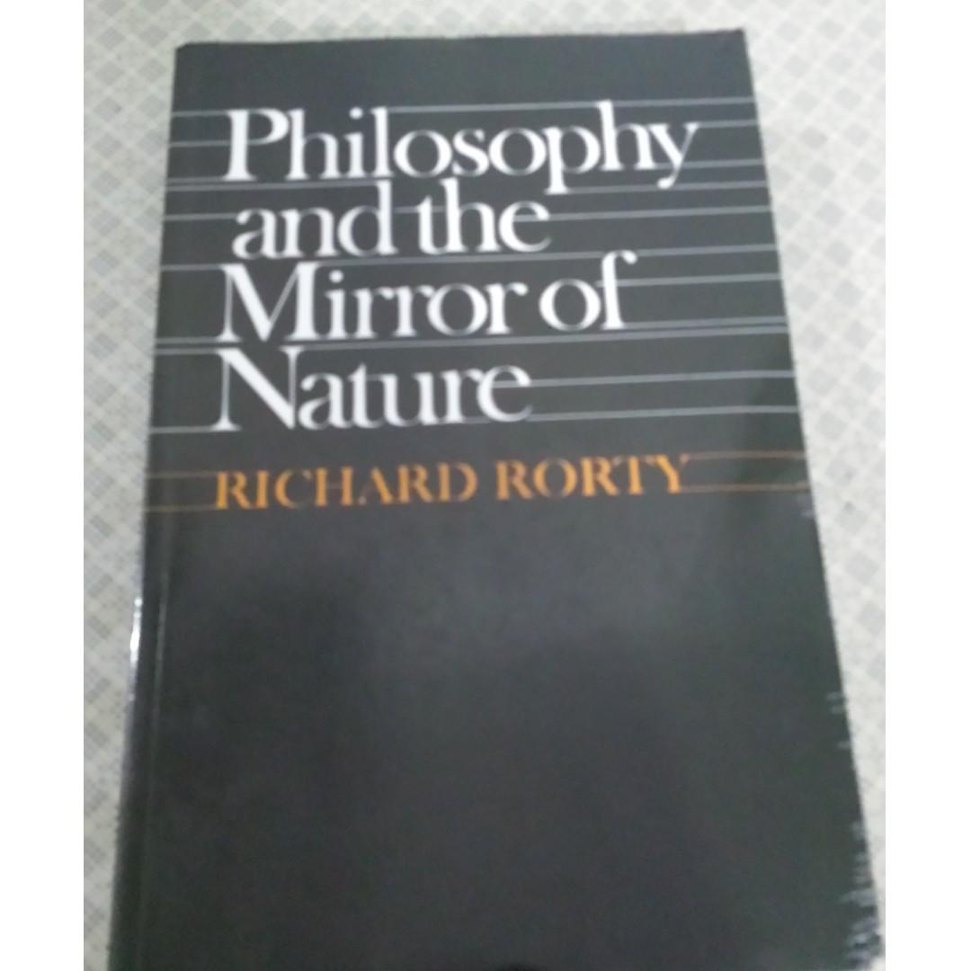 A Brief History of Time by Stephen Hawking and Philosophy and the Mirror of Nature by Richard Rorty