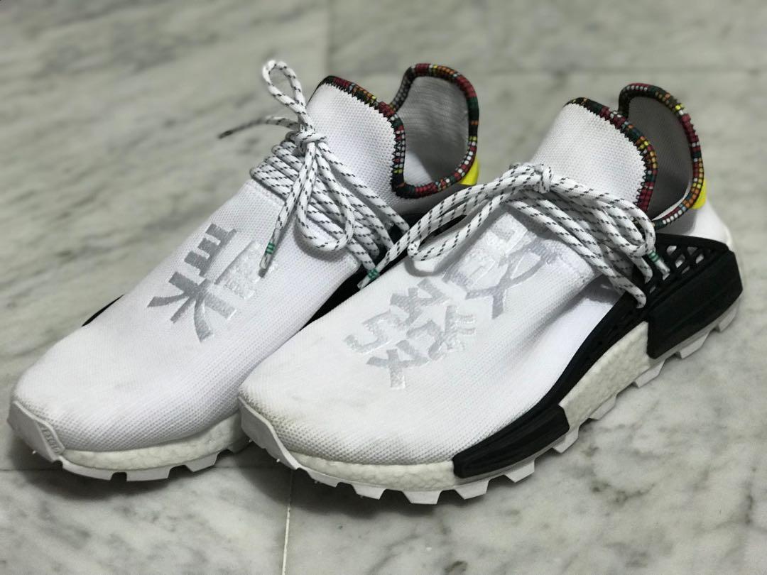 size 40 a2cfe a59c4 Adidas NMD Hu Pharrell inspiration Pack White, Men's Fashion ...